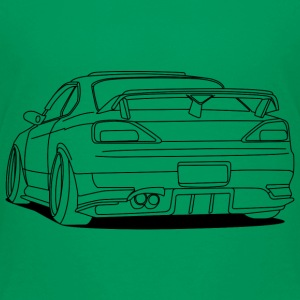 cool car outlines Shirts - Teenage Premium T-Shirt