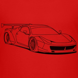custom car outlines Shirts - Teenage Premium T-Shirt