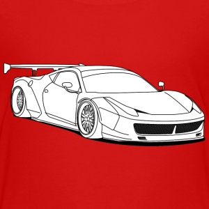 custom car white Shirts - Teenage Premium T-Shirt