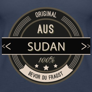 Original aus Sudan 100% Tops - Frauen Premium Tank Top