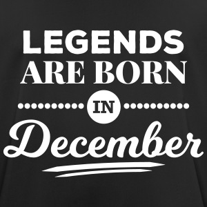 legends are born in december birthday December T-Shirts - Men's Breathable T-Shirt