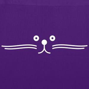 moustache de chat happy Borse & Zaini - Borsa di stoffa