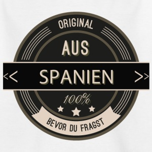 Original aus Spanien 100% T-Shirts - Teenager T-Shirt