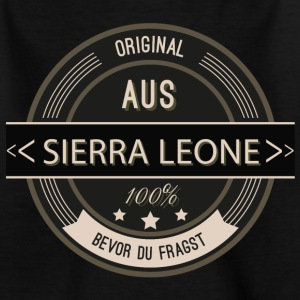 Original aus Sierra Leone 100% T-Shirts - Teenager T-Shirt