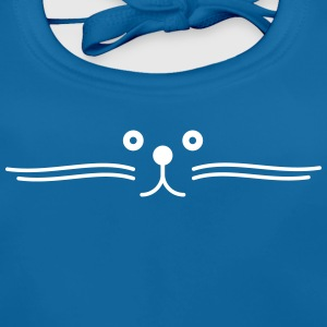 moustache de chat happy Baby Bibs - Baby Organic Bib