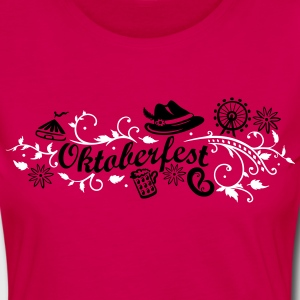 Oktoberfest decoration with traditional elements Long Sleeve Shirts - Women's Premium Longsleeve Shirt