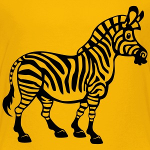 Cartoon Zebra - Kinder T-Shirt - Kinder Premium T-Shirt