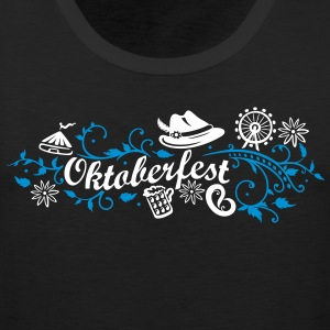 Oktoberfest decoration with traditional elements Sports wear - Men's Premium Tank Top