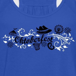 Oktoberfest decoration with traditional elements Tops - Women's Tank Top by Bella
