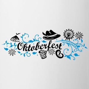 Oktoberfest decoration with traditional elements Mugs & Drinkware - Mug