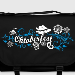 Oktoberfest decoration with traditional elements Bags & Backpacks - Shoulder Bag