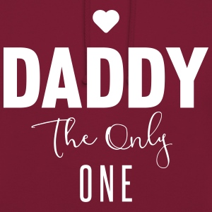 DADDY-THE-ONLY-ONE Sudaderas - Sudadera con capucha unisex