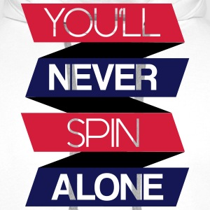 You'll never spin alone Pullover & Hoodies - Männer Premium Hoodie