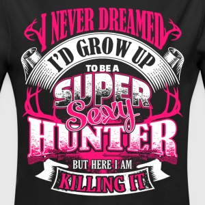 Super Sexy Hunter - EN Baby Bodys - Baby Bio-Langarm-Body