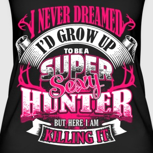 Super Sexy Hunter - EN Tops - Frauen Bio Tank Top