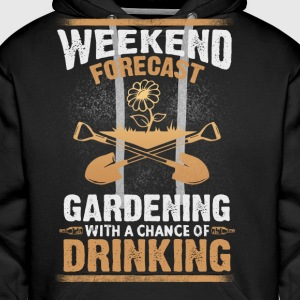 Gardening drinking - EN Sweat-shirts - Sweat-shirt à capuche Premium pour hommes