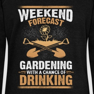 Gardening drinking - EN Hoodies & Sweatshirts - Women's Boat Neck Long Sleeve Top