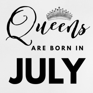 Queens are born in july shirt design Baby shirts - Baby T-shirt