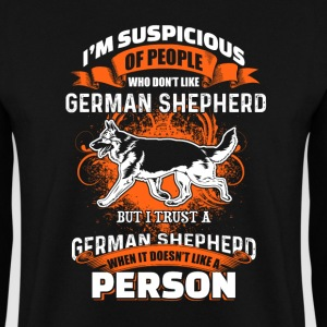 I'm Suspicous Of People - German Shepherd - EN Gensere - Genser for menn