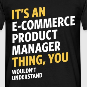 E-commerce Product Manager - Men's T-Shirt