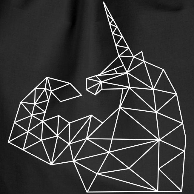Bizepseinhorn Gitter-Design: Turnbeutel