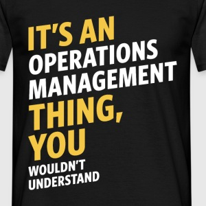 Operations Management - Men's T-Shirt