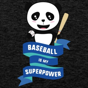 Baseball is my Superpower Skkwh Sports wear - Men's Premium Tank Top