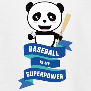Honkbal is mijn supermacht-Skkwh Shirts - Kinderen T-shirt