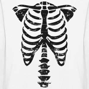 Bone skeleton Long Sleeve Shirts - Kids' Premium Longsleeve Shirt