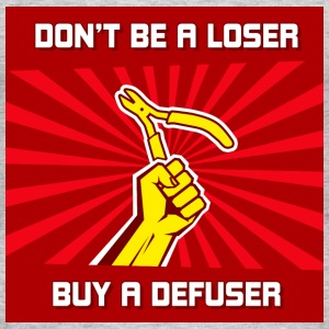 Dont be a loser buy a - T-shirt Homme