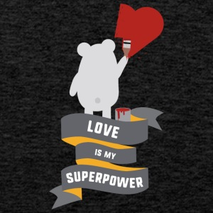 Love is my Superpower S3734 Sports wear - Men's Premium Tank Top