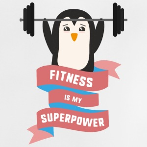 Fitness is my Superpower Sodhg Baby Shirts  - Baby T-Shirt