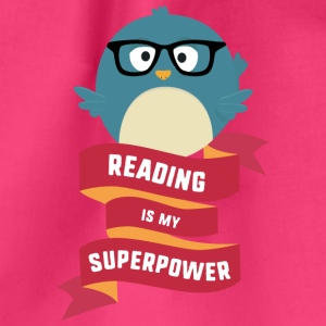 Reading is my Superpower S2g6d Bags & Backpacks - Drawstring Bag