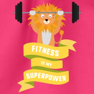 Fitness is my Superpower Shdub Bags & Backpacks - Drawstring Bag