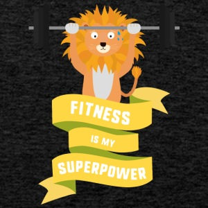 Fitness is my Superpower Shdub Sports wear - Men's Premium Tank Top