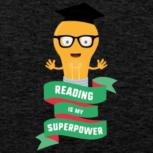 Reading is my Superpower S778b Sports wear - Men's Premium Tank Top