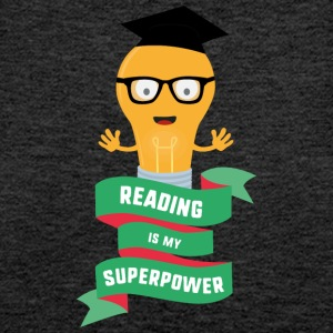 Reading is my Superpower S778b Tops - Women's Premium Tank Top