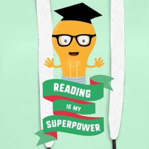 Reading is my Superpower S778b Hoodies & Sweatshirts - Women's Premium Hoodie
