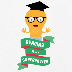 Reading is my Superpower S778b Long Sleeve Shirts - Kids' Premium Longsleeve Shirt