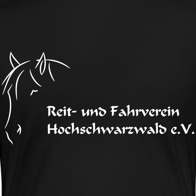 RFV Hochschwarzwald Premium Damen T-Shirt (Druck weiß)