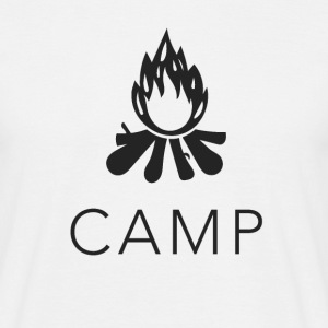 camp fire T-Shirts - Men's T-Shirt