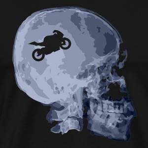 X Motorcycle Skull Tee shirts - T-shirt Premium Homme