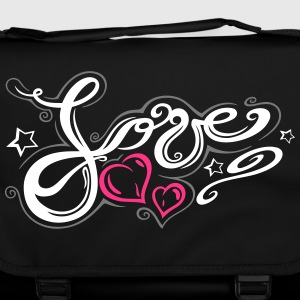 Love logo, Tribal and Tattoo style  - Shoulder Bag