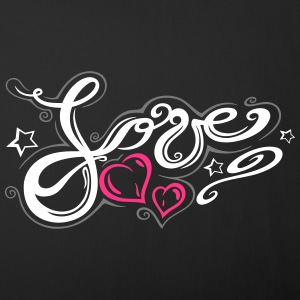 Love logo, Tribal and Tattoo style  - Sofa pillow cover 44 x 44 cm