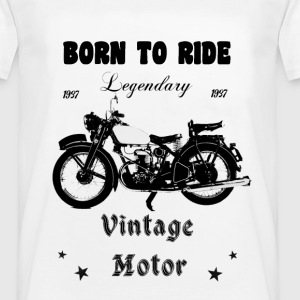 Born to ride - Männer T-Shirt