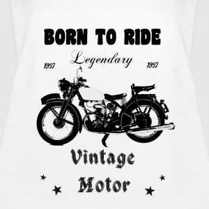 Born to ride - Frauen Premium Tank Top
