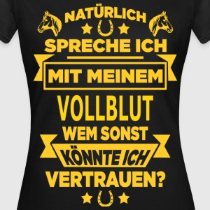 VOLLBLUT T-Shirts - Frauen T-Shirt