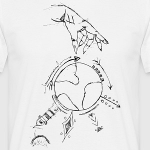 round in circles - Männer T-Shirt