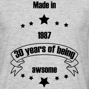 being awesome - Männer T-Shirt