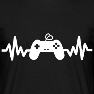 Gaming is life, geek, gamer , nerd t-shirt  - Men's T-Shirt